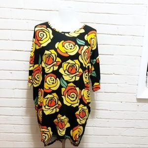 LulaRoe Unicorn Disney Beauty & Beast Roses